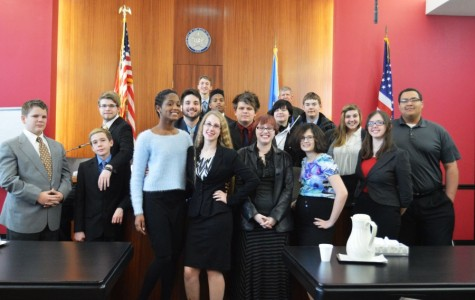 Mock trial goes to court