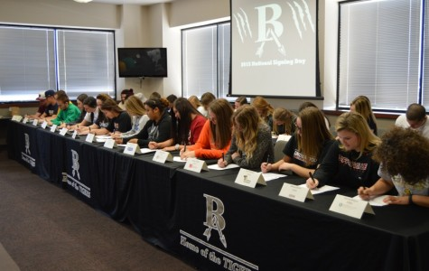 More than 30 students sign letters of intent