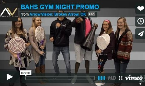 BAHS Gym Night Promo
