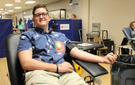 Blood Drive helps Red Cross