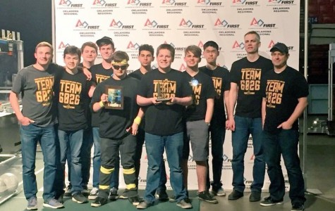 Rookie robotics team scores high