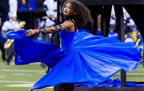 Colorguard hosts auditions
