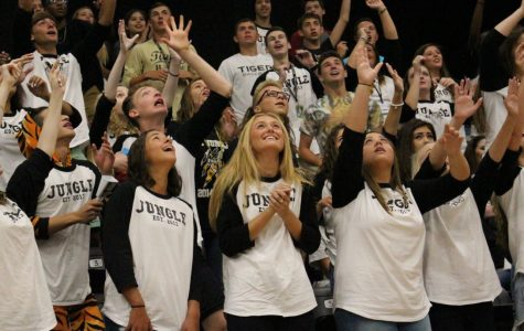 Broken Arrow High School awarded the spirit stick from News on 6