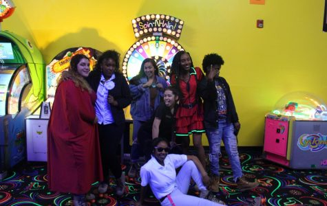 Seniors roll back time at senior skate night
