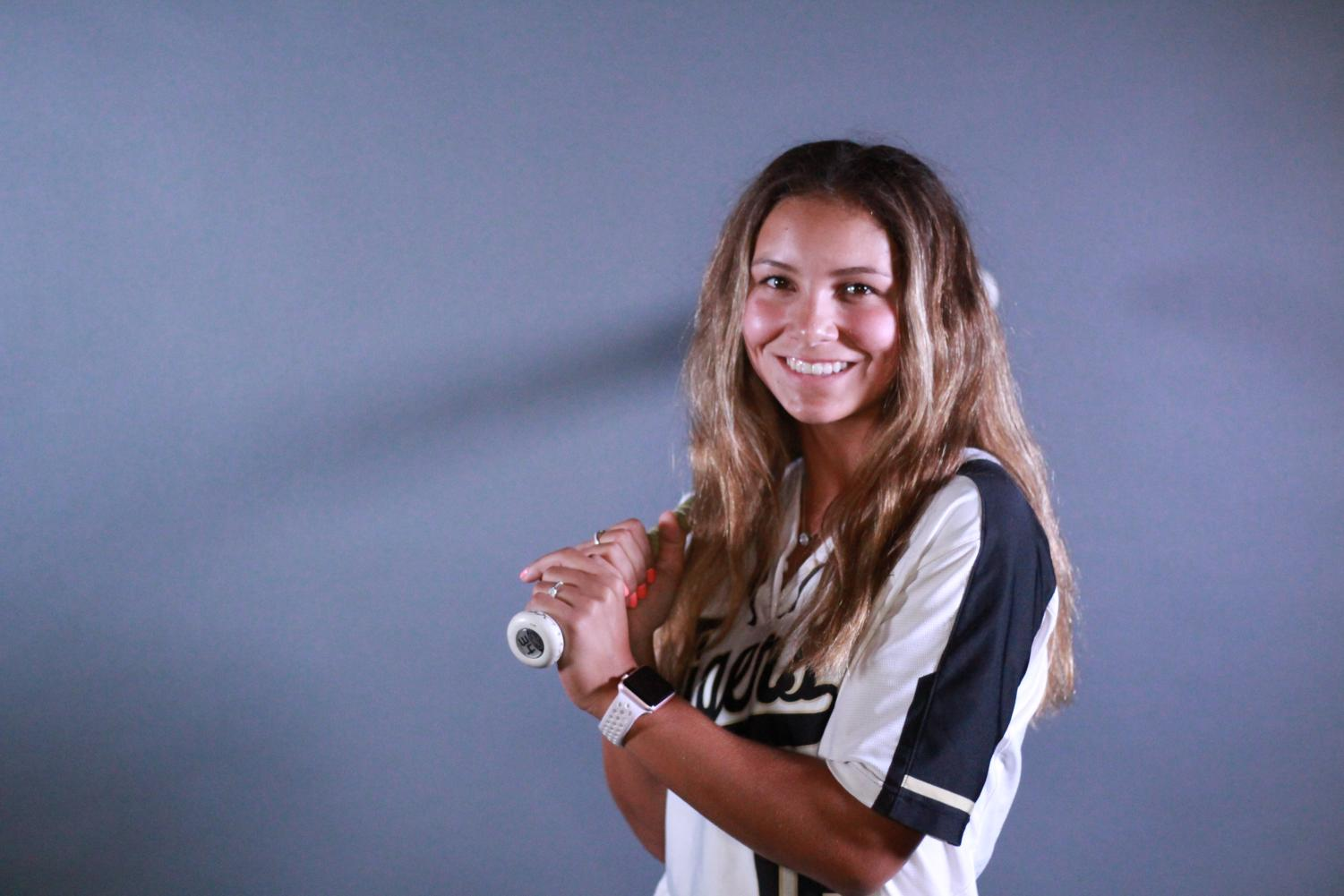 Grace Jarvis poses for a pre-season promotional photo.