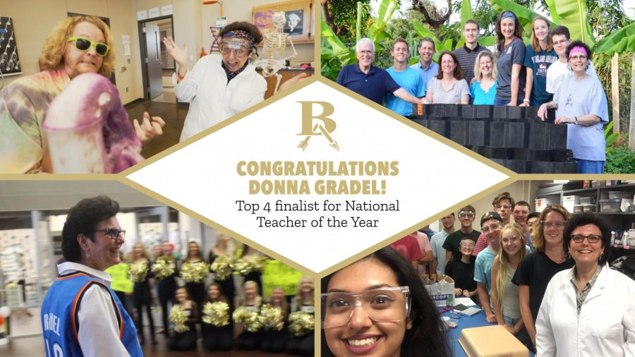 BA's Donna Gradel named National Teacher of the Year Finalist