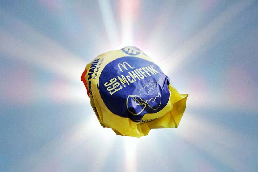 McDonald's offers breakfast all day
