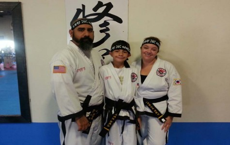 Tae Kwon-Do Torres teaches English