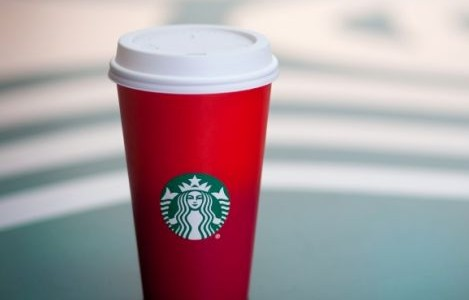 Red Starbucks cups spark discussion, outrage