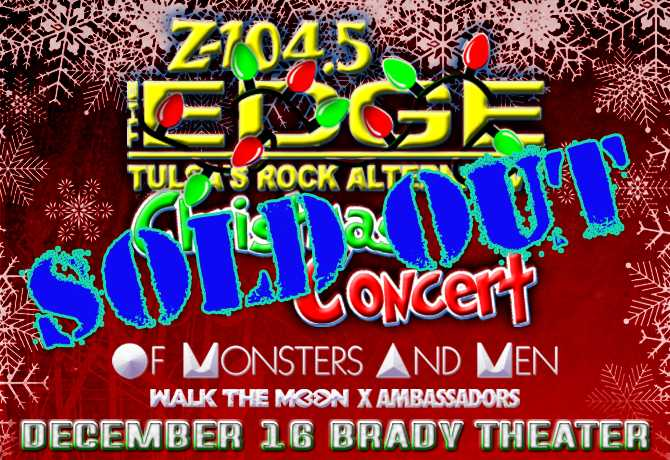 The Edge brings bands to Tulsa for Christmas Concert