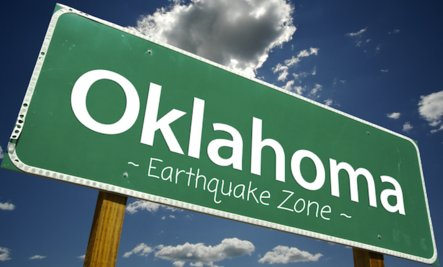 Oklahoma, the new earthquake capital?