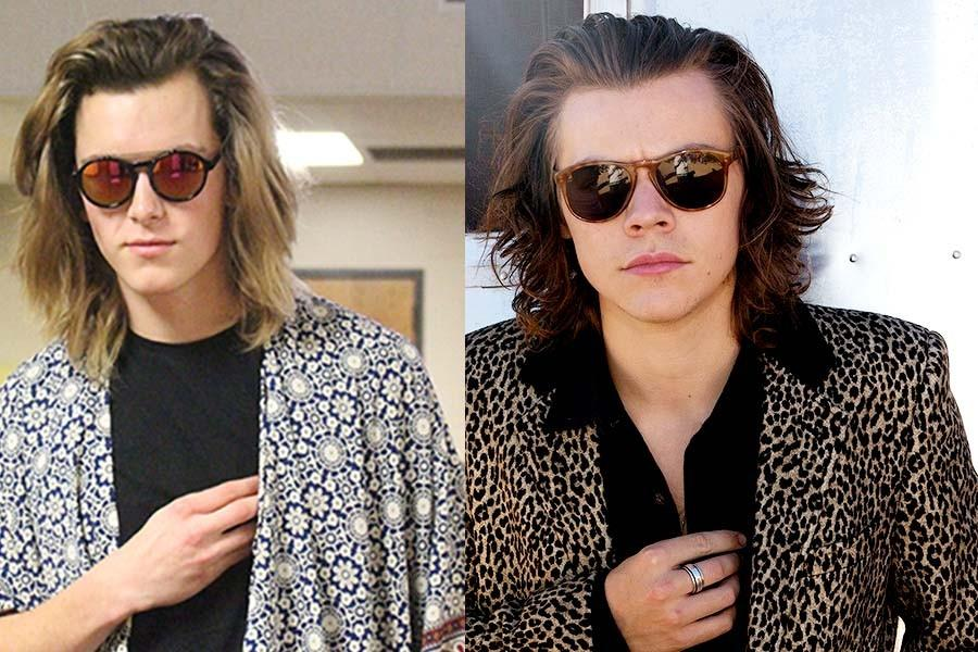 Junior Travor Brown is often told of his resemblance to One Direction member Harry Styles.