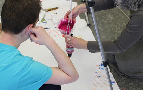 Fine arts teachers help students with disabilities