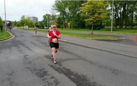 Algebra teacher runs marathons