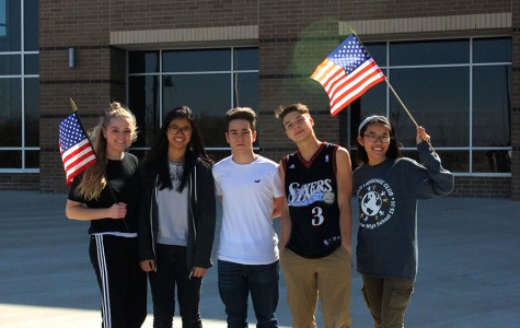 Foreign Exchange students in BAHS