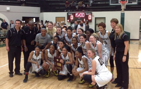 Girls Basketball took the area championship home on March 3.