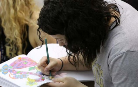 Coloring is therapeutic for students