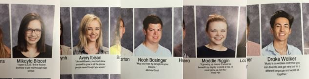 Senior Quote Samples