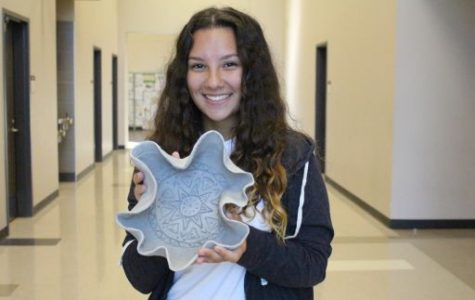 Jasmine Marble excels at art