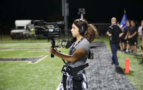ArrowVision students take over football film crew