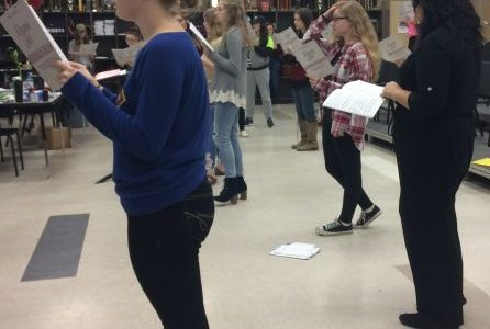 Choir Students Prepare for All-State auditions