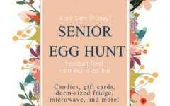 Senior board plans a senior egg hunt