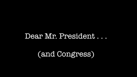 CSPAN Student Documentary: Dear Mr. President