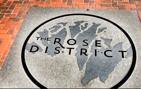 What should I visit in the Rose District?