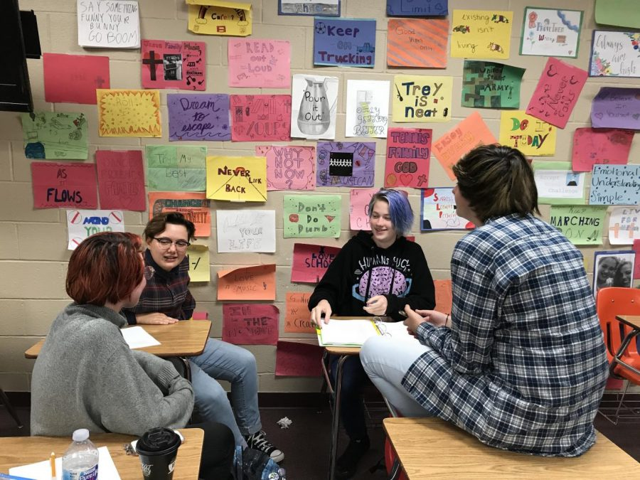 The Gay-Straight Alliance provides a safe place for students