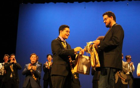 Josue Marroquin crowned Mr. BA