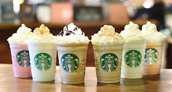 Fall Drinks at Starbucks