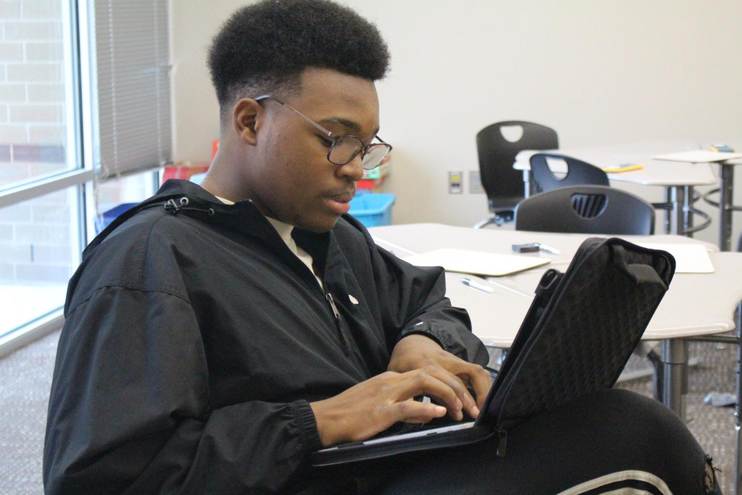 Students completed all their work online on Nov. 13.