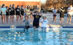 Tigers freeze their tails off for a good cause