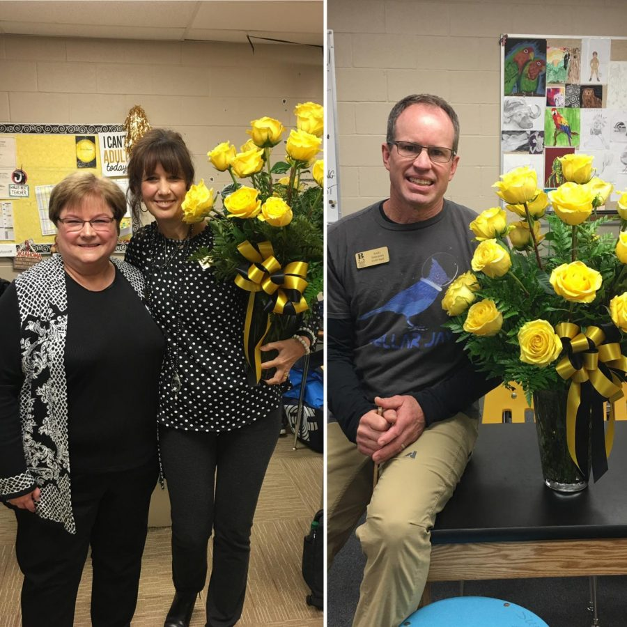 Jeanie Moore and Andy Summers win Teacher of the Year
