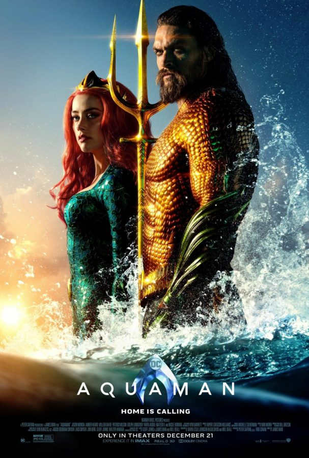 Aquaman, worth the watch but not worth the price of a ticket