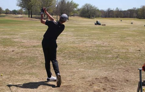 Senior Connor Herzberg starts final golf season as a Tiger