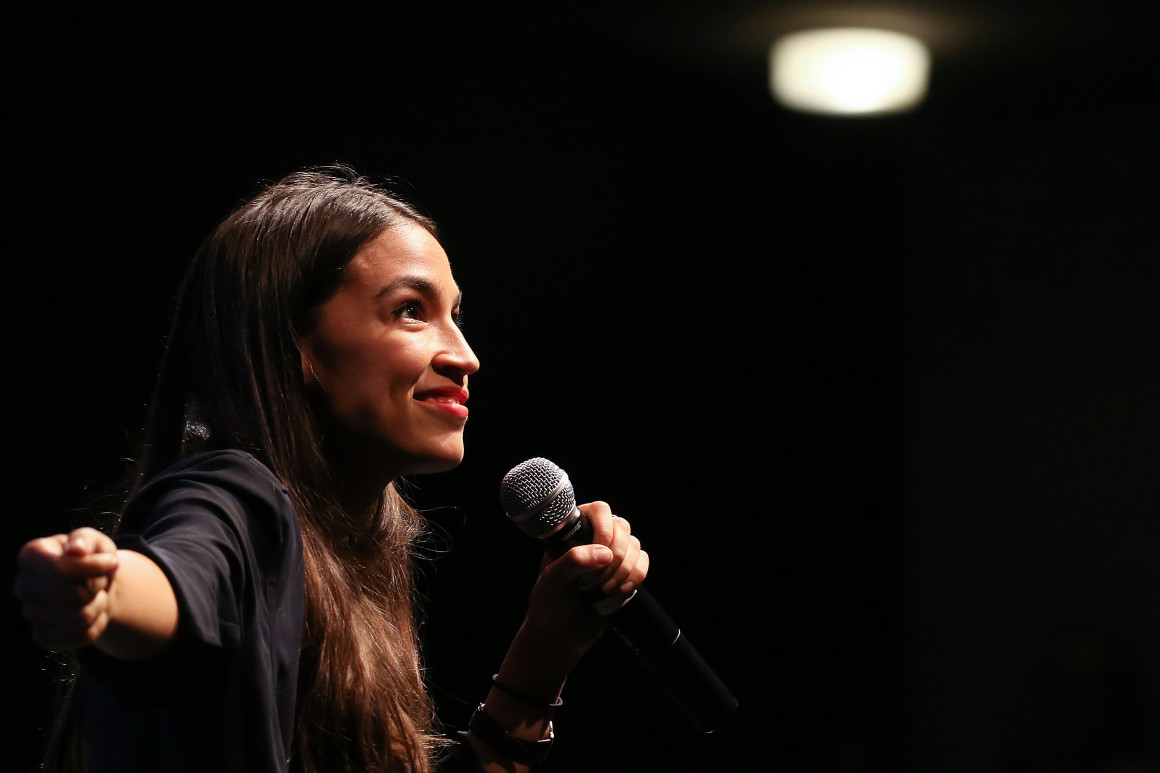Alexandria Ocasio-Cortez is a prominent woman of color in the House of Representatives.