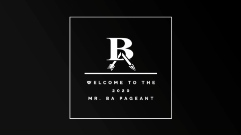 The 2020 Mr. BA Pageant